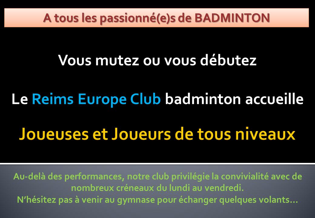 Reims accueil ter